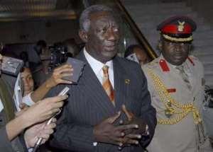 President Kufuor lies again!!